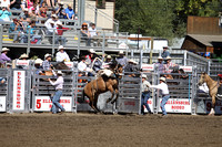2012 Ellensburg Rodeo - Sat Saddle Bronc Riding