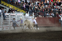 2012 Ellensburg Rodeo - Clown and Bull Fighters