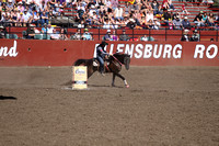 2012 Ellensburg Rodeo - Sat Barrel Racing
